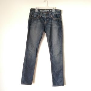 Guess Daredevil skinny jeans size 27 distressed